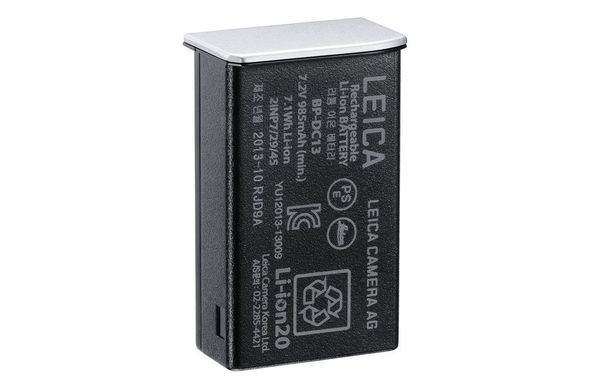 Lithium-Ion-Battery BP-DC13, silver