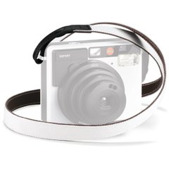 Leica Ремень SOFORT, white/black (19512)